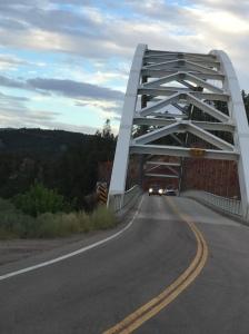 Cart Creek Bridge, built in 1962 in Dagget County, Utah