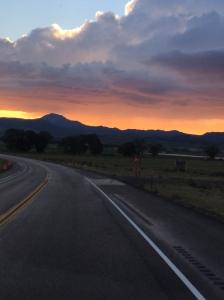A gorgeous sunset
